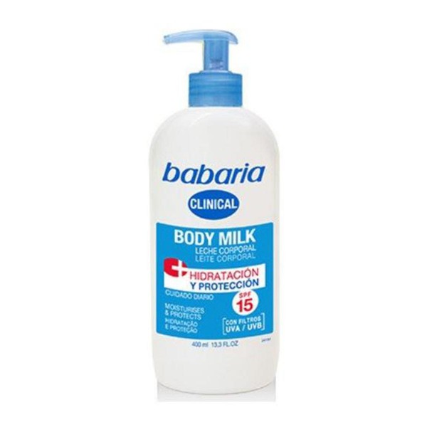 Babaria clinical leche corporal spf15 400ml