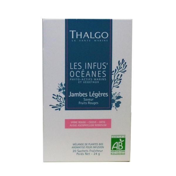 Thalgo les infus'oceanes jambes legeres 20ud.